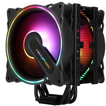 Abkoncore T404B Dual Sync Ventilador de procesador ARGB PMW 2 x 120 mm para socket Intel y AMD