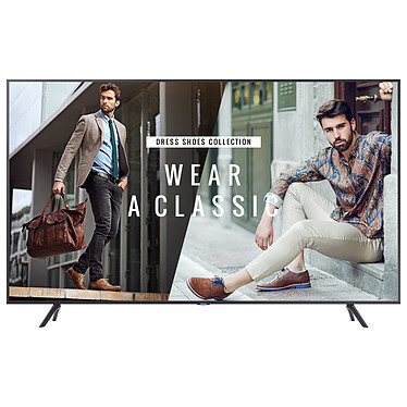 "Samsung 50"" LED BE50T-H Ecran 50"" 4K Ultra HD 3840 x 2160 pixels - 16:9 - 250 cd/m² - 4700:1 - 8 ms - DVB-T2 - HDR - HDMI - USB - Wi-Fi - Bluetooth - 16/7 - Noir"