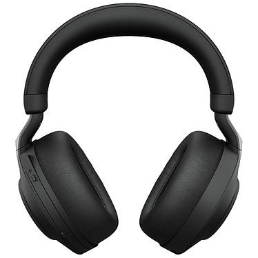 Jabra Evolve2 85 Link380C MS Stereo Black Auriculares inalámbricos estéreo profesionales - Bluetooth - reducción activa del ruido - USB-C - Certificado Microsoft Teams
