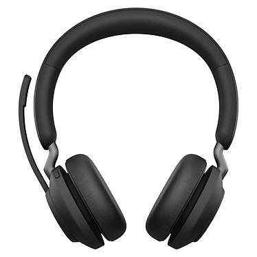 Jabra Evolve2 65 Link380C MS Stéréo Noir Micro-casque sans fil stéréo professionnel - Bluetooth - USB-C - certifié Microsoft Skype