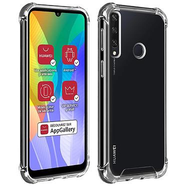 Akashi Coque TPU Angles Renforcés Huawei Y6P Coque de protection transparente avec angles renforcés pour Huawei Y6P