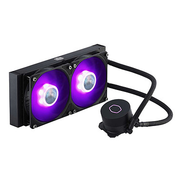 Cooler Master MasterLiquid ML240L V2 RGB Kit de Watercooling RGB tout-en-un pour processeur pour socket Intel et AMD
