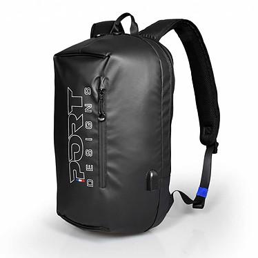 """PORT Designs Sausalito Backpack 15.6"""" Sac à dos pour ordinateur portable (jusqu'à 15.6"""") et tablette (10"""") avec port de charge USB"""