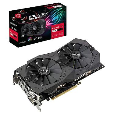 ASUS ROG STRIX AMD Radeon RX 570 O8G Gaming 8 GB GDDR5 - DVI/Dual HDMI/DisplayPort - PCI Express (AMD Radeon RX 570)