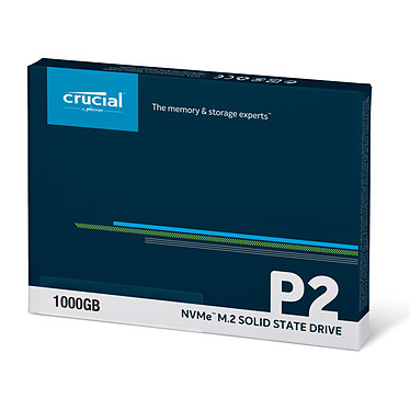 Avis Crucial P2 M.2 PCIe NVMe 1 To