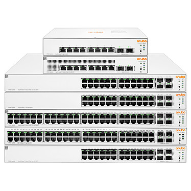 Aruba Instant On 1930 8G (JL680A) Switch manageable 8 ports 10/100/1000 + 2 SFP