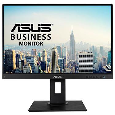 "ASUS 24"" LED - BE24WQLB 1920 x 1200 pixels - 5 ms (gris à gris) - Format 16/10 - Dalle IPS - Pivot - DisplayPort/VGA/HDMI - Hub USB 3.0 - Noir"