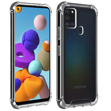 Akashi Coque TPU Angles Renforcés Samsung Galaxy A21s Coque de protection transparente avec angles renforcés pour Samsung Galaxy A21s