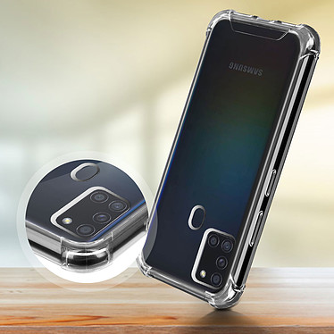 Acheter Akashi Coque TPU Angles Renforcés Samsung Galaxy A21s
