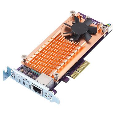 QNAP QM2-2P10G1TA Carte d'extension dual SSD M.2 PCIe NVMe type 2280 + Ethernet 10 GbE Aquantia AQC107