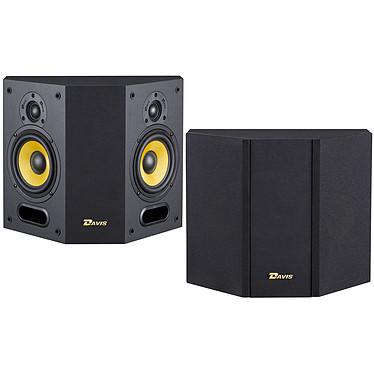 Davis Acoustics Mia 40 Noir Enceinte surround 80 Watts (par paire)