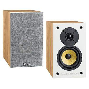 Davis Acoustics Balthus 30 Chêne Clair Enceinte bibliothèque 80 Watts (la paire)
