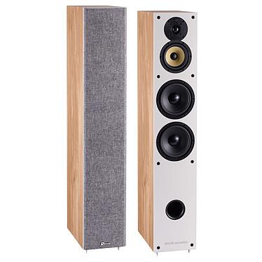 Davis Acoustics Balthus 70 Chêne Clair Enceinte colonne 130 Watts (la paire)