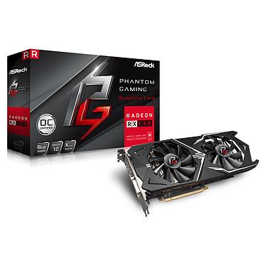 ASRock Phantom Gaming X Radeon RX580 8G OC 8 Go DVI/HDMI/Tri DisplayPort - PCI Express (AMD Radeon RX 580)