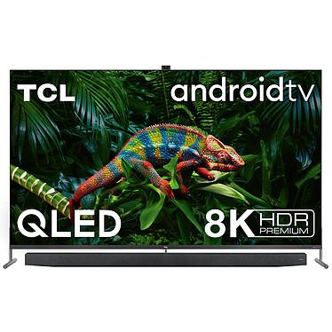 "TCL 75X915 Téléviseur QLED 8K 75"" (190 cm) - Dolby Vision/HDR10+ - Android TV - Wi-Fi/Bluetooth - Assistant Google - Barre de son 2.0 40W Onkyo - Dolby Atmos - 4000 PPI"