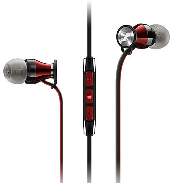 Sennheiser Momentum In-ear G Rouge/Noir Ecouteurs intra-auriculaires compatibles appareils Android