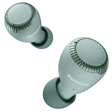 Panasonic RZ-S300W Vert Écouteurs intra-auriculaires True Wireless - Bluetooth 5.0 - Autonomie 7h30 - IPX4 - Commandes tactiles - Micro - Boîtier charge/transport sans fil