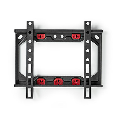 """Nedis Fixed TV Mount 27"""" Support mural fixe 13-27"""" - fixe - montage facile sans percer - charge maximale 15 kg"""