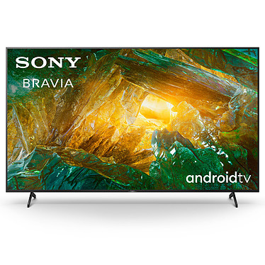 """Sony KD-65XH8096 Téléviseur LED 4K Ultra HD 65"""" (165 cm) 16/9 - HDR Dolby Vision - Android TV - Wi-Fi/Bluetooth/AirPlay - Google Assistant - 400 Hz - Son 2.0 20W"""