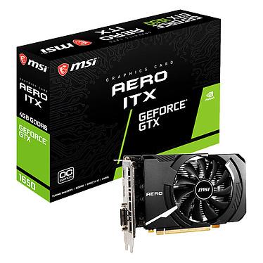 MSI GeForce GTX 1650 D6 AERO ITX OC 4 Go GDDR6 - HDMI/DisplayPort/DVI - PCI Express (NVIDIA GeForce GTX 1650)