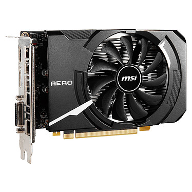 Acheter MSI GeForce GTX 1650 D6 AERO ITX OC