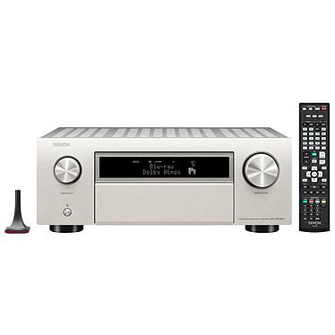 Denon AVC-X6700H Argent Ampli-tuner Home Cinema 11.2 - 140W/canal - Dolby Atmos/DTS:X Pro/Auro 3D - IMAX Enhanced - HDMI 8K - Upscalling 8K - HDR - Wi-Fi/Bluetooth - AirPlay 2 - Multiroom