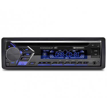 Caliber RCD236DAB-BT Autoradio 4 x 25 Watts RMS - CD/MP3/WMA - FM/DAB+ - Bluetooth - AUX/USB/SD - Eclairage des touches 7 couleurs