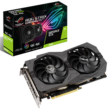 ASUS GeForce GTX 1650 ROG-STRIX-GTX1650-O4GD6-GAMING