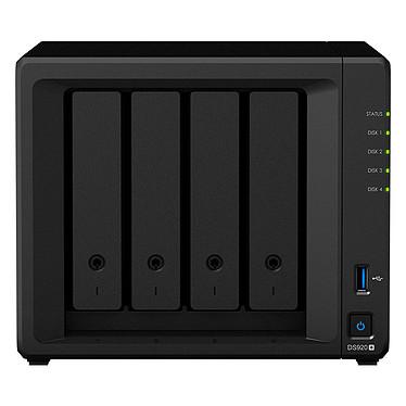 Synology DiskStation DS920+ Serveur NAS 4 baies - 4 Go de RAM DDR4 - Intel Celeron J4125