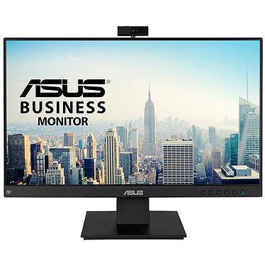 """ASUS 23.8"""" LED - BE24EQK 1920 x 1080 pixels - 5 ms (gris à gris) - Format 16/9 - Dalle IPS - Webcam - DisplayPort/VGA/HDMI - Haut-parleurs - Noir"""
