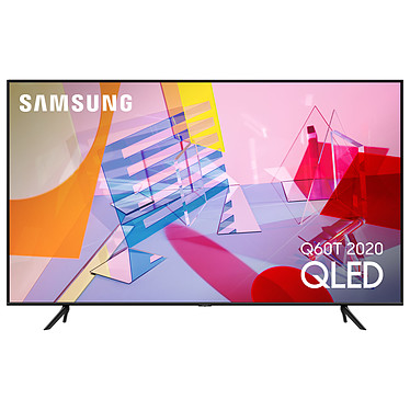 "Samsung QE43Q60T QLED 4K Ultra HD 50"" (109 cm) 16/9 - 3840 x 2160 píxeles - HDR - Wi-Fi/Bluetooth/AirPlay 2 - Google Assistant/Alexa - 3100 PQI - Sound 2.0 20W"