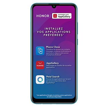 """Honor 9A Bleu Smartphone 4G-LTE Dual SIM - MediaTek MT6762R 8-Core 2.0 GHz - RAM 3 Go - Ecran tactile 6.3"""" 720 x 1600 - 64 Go - Bluetooth 5.0 - 5000 mAh - Android 10"""