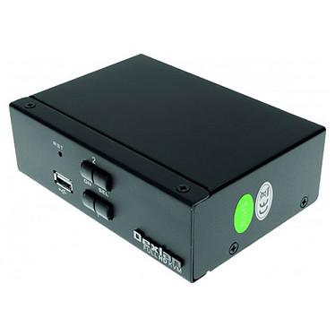 Commutateur KVM 2 ports (USB + HDMI + Jack)