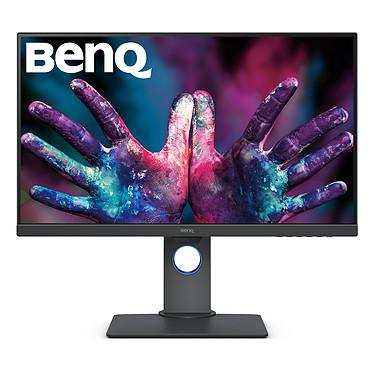 """BenQ 27"""" LED - PD2705Q 2560 x 1440 pixels - 5 ms (gris à gris) - Format 16/9 - Dalle IPS - HDR - Pivot - HDMI/DisplayPort/USB-C - Hub USB 3.0 - Haut-parleurs - Noir"""