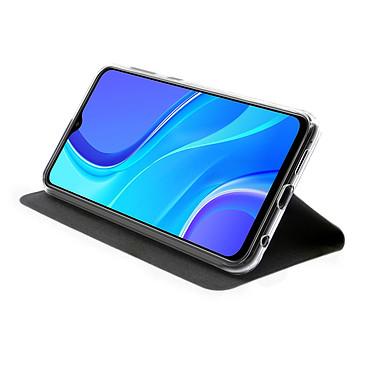 Avis Akashi Etui Folio Porte Carte Noir Xiaomi Redmi 9
