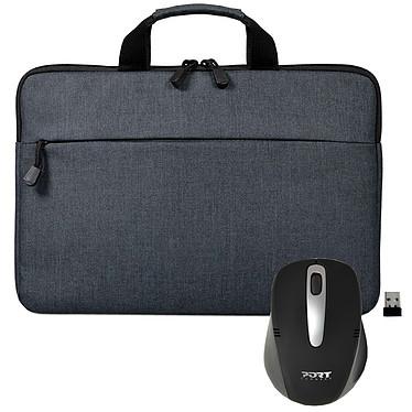 """PORT Designs Belize 15.6"""" (gris) + Souris sans fil"""