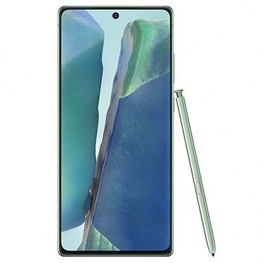 "Samsung Galaxy Note 20 5G SM-N981 Verde (8GB / 256GB) Smartphone 5G-LTE IP68 Dual SIM - Exynos 990 8-Core 2.73 Ghz - RAM 8 GB - Pantalla táctil Super AMOLED 6.7"" 1080 x 2400 - 256 GB - NFC/Bluetooth 5.0 - 4300 mAh - Android 10"