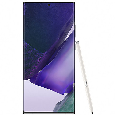 "Samsung Galaxy Note 20 Ultra 5G SM-N986 Blanco (12GB / 256GB) Smartphone 5G-LTE IP68 Dual SIM - Exynos 990 8-Core 2.73 Ghz - RAM 12 GB - Dynamic AMOLED 6.9"" 1440 x 3088 Pantalla táctil - 256 GB - NFC/Bluetooth 5.0 - 4500 mAh - Android 10"