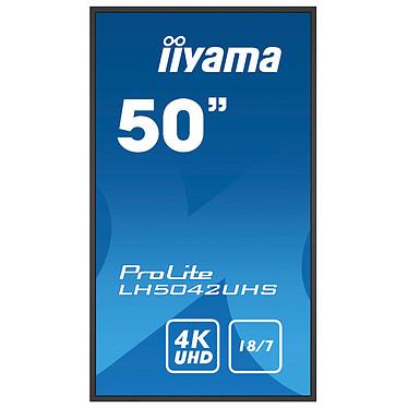 "Acheter iiyama 49.5"" LED - ProLite LH5042UHS-B1"