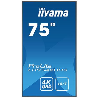 "Acheter iiyama 74.5"" LED - ProLite LH7542UHS-B1"