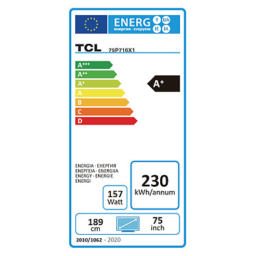 TCL 75P716 a bajo precio