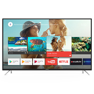 "Thomson 50UE6420 Téléviseur LED 4K Ultra HD 50"" (127 cm) 16/9 - 3840 x 2160 pixels - HDR - Android TV - Wi-Fi - Bluetooth - 1200 Hz - Son 2.0 16W"