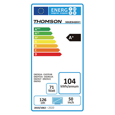 Thomson 50UE6420 pas cher