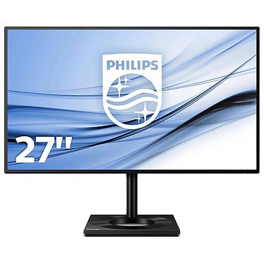 """Philips 27"""" LED - 279C9/00 3840 x 2160 pixels - 5 ms (gris à gris) - Format 16/9 - Dalle IPS - HDR400 - FreeSync - Pivot - HDMI/DisplayPort - USB-C - Hub USB - Noir"""