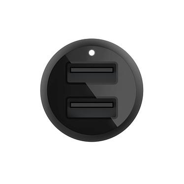Acheter Belkin Boost Charge Chargeur de voiture 2 ports USB-A (24 W) sur prise allume-cigare (Noir)