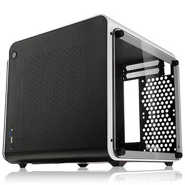 Raijintek Metis Evo TGS (Blanco) Caja PC Mini Torre compacta con ventana lateral en vidrio templado - Blanco