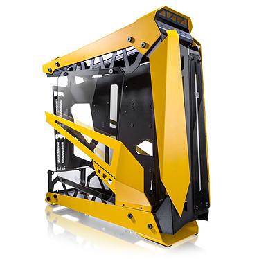 Raijintek Nyx Pro (Amarillo) Caja PC Gaming mediana con ventana de vidrio templado y marco de aluminio/acero - Amarillo