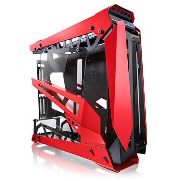 Raijintek Nyx Pro (Rojo) Caja de PC Gaming mediana con ventana de vidrio templado y marco de aluminio/acero - Rojo