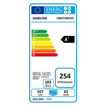 Samsung UE82TU8005 a bajo precio
