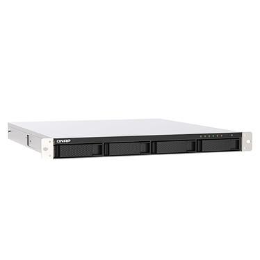 QNAP TS-453 DE P-R-4G Servidor NAS profesional de 4 bahías (sin disco duro) con 4 GB de RAM, procesador Intel Celeron J4125 Quad-Core 2.0 GHz, 2.5 GbE LAN y fuente de alimentación redundante